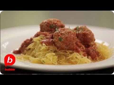 How to Make Spaghetti Squash and Meatballs | That's Fresh with Helen Cavallo | Babble