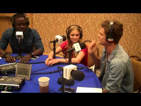 The Tributes of Hunger Games on Comic Con Radio
