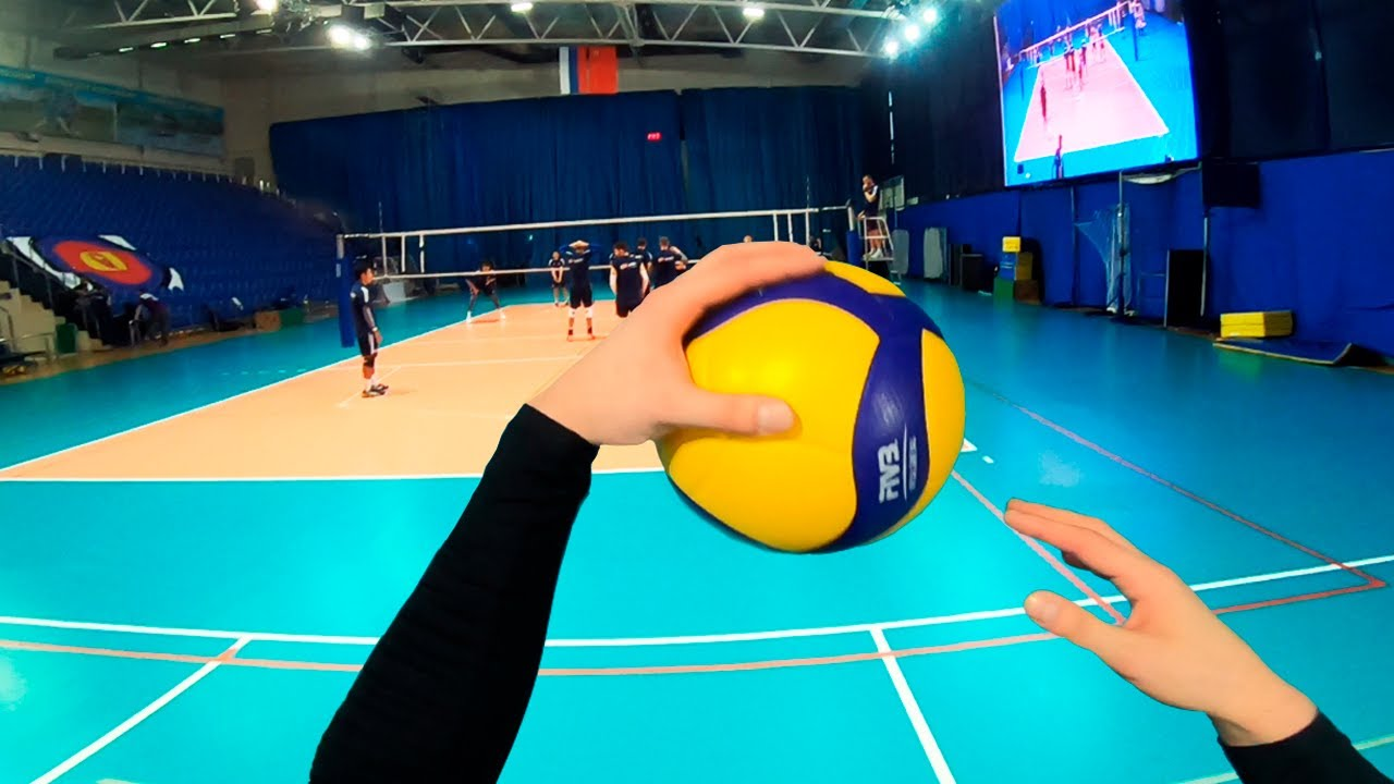 Volleyball first person | Wing Spiker - Highlights | VC Fakel (POV)