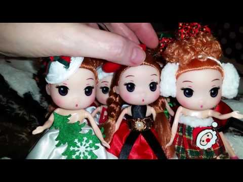 This Video shows how to remove the keychain from their heads. Little Girl Dolls!
