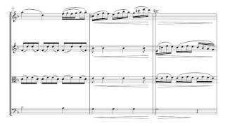 Gluck Melody | String Quartet Sheet Music