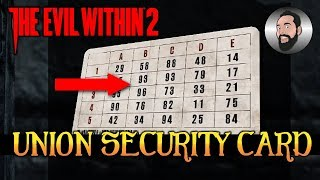HOW TO USE THE SECURITY CARD | THE EVIL WITHIN 2