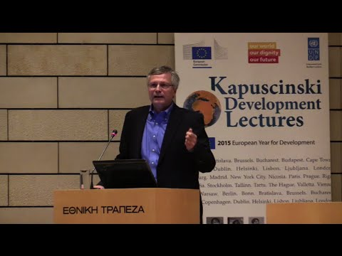 Video: Dani Rodrik at Kapuscinski Development Lecture