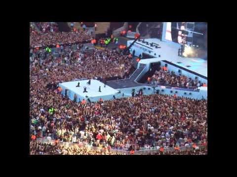 Capital Summertime Ball 2012 Usher OMG Wembley Stadium