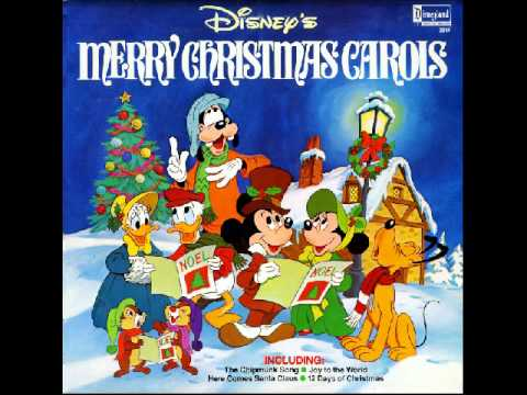 We Wish You a Merry Christmas by Walt Disney Cartoons - YouTube