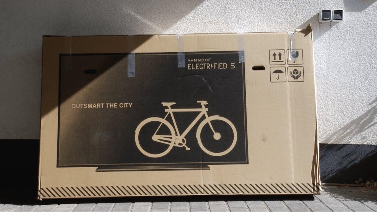VanMoof Electrified S Unboxing