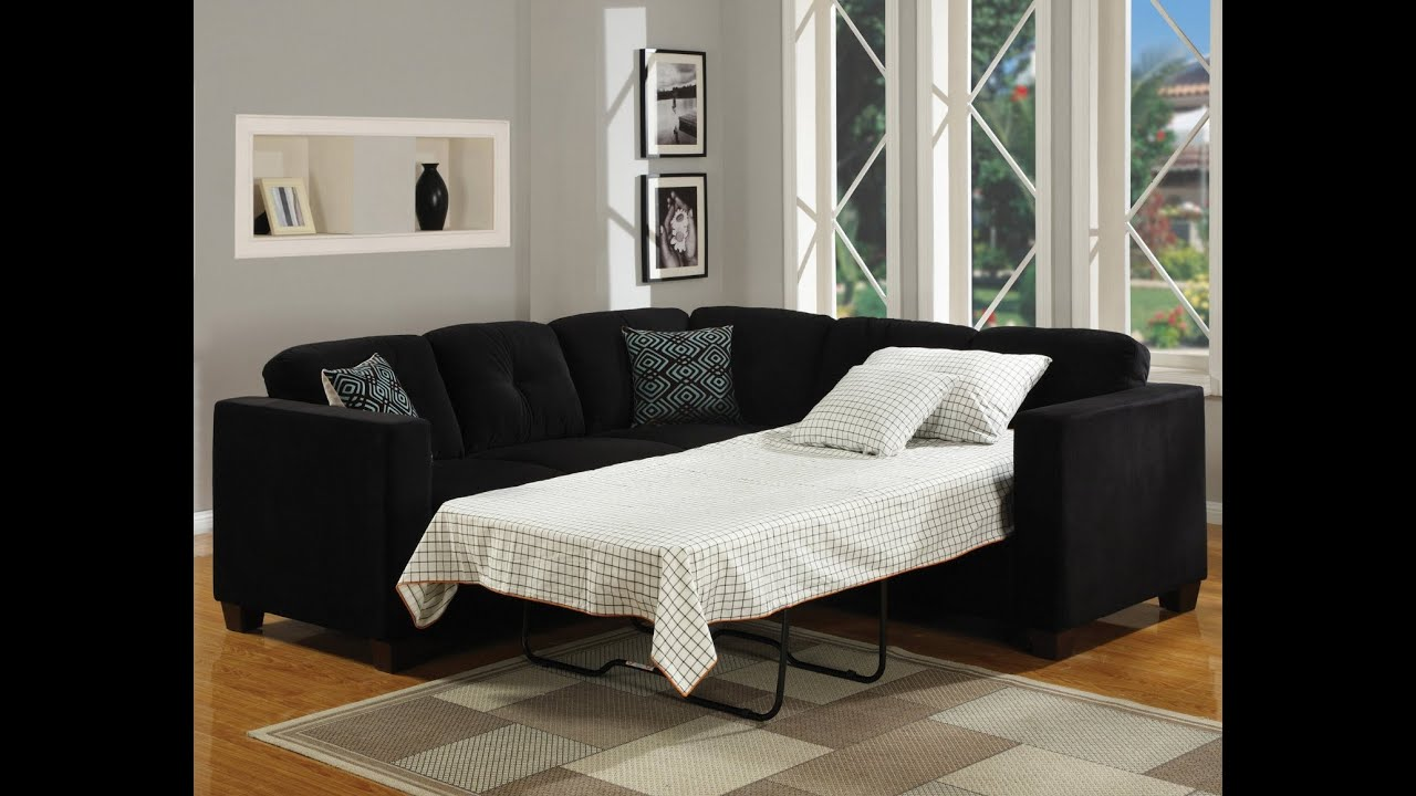 Sectional Sleeper Sofa   YouTube