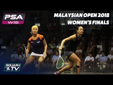 Squash: Watanabe v Low - Malaysian Open 2018 - Women's Final - Full Match