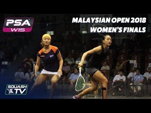 Squash: Watanabe v Low - Malaysian Open 2018 - Women\'s Final - Full Match