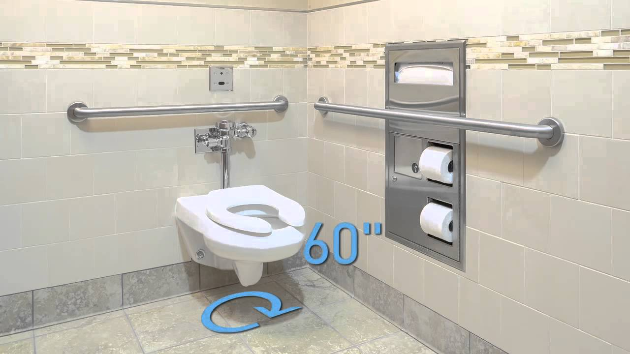 Accessible Toilet Compartments Youtube