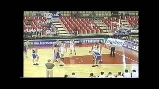 98年 バスケ世界選手権 日本vsロシア①