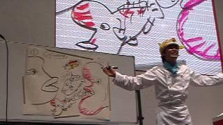 2008年5月、パシフィコ横浜でHIクッキングショー、さかなクンの...