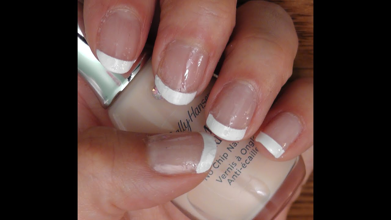 Haul #1 ╫ Sally Hansen French Manicure Pen kit ╫ - YouTube