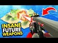 THE BEST FUTURISTIC LASER RIFLE OF ALL TIME IN RAVENFIELD (Ravenfield Funny Gameplay)