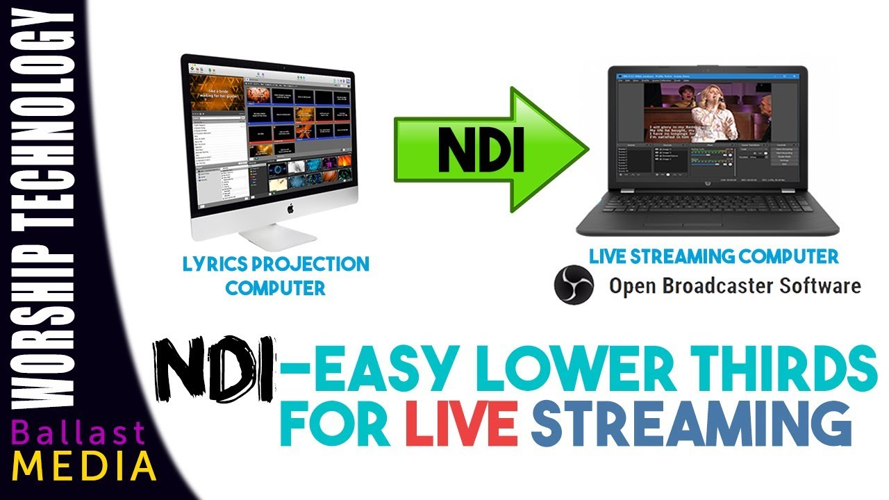 Ndi Easy Lower Thirds On Your Live Stream Obs Walkthrough Youtube