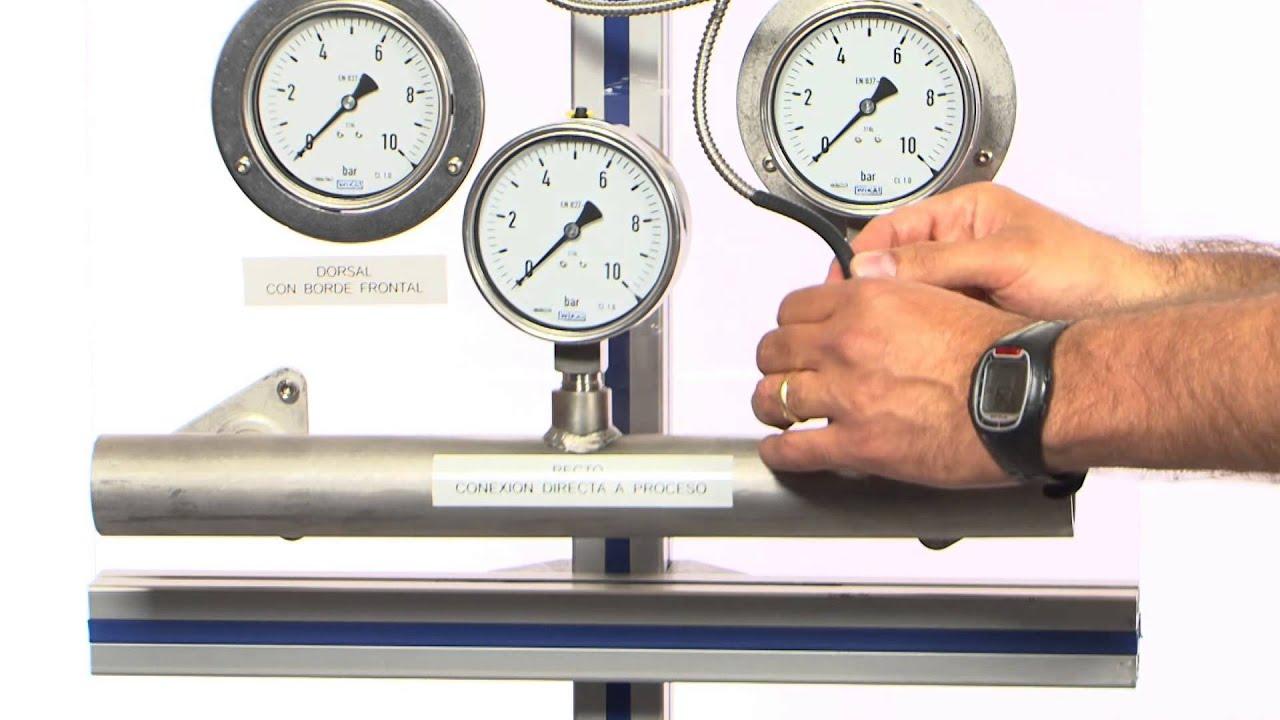 Wika c mo instalar un man metro youtube for Manometro para medir presion de agua