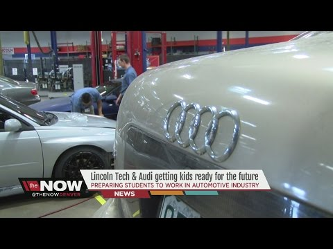 Lincoln Tech & Audi getting kids ready for the future