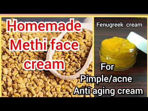 How to make fenugreek powder for face