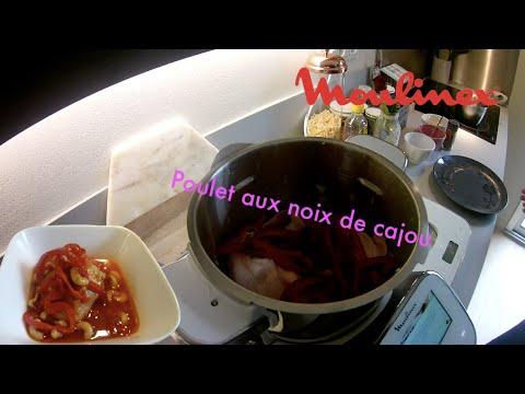 recette-poulet-aux-noix-de-cajou-:-moulinex-i-companion-touch-xl