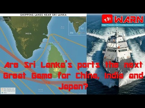 Are Sri Lanka's ports the next Great Game for China, India and Japan?