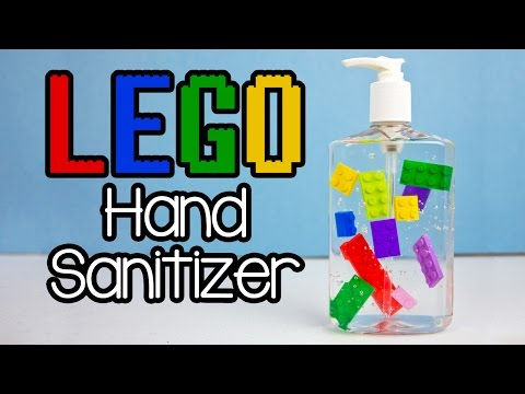 LEGO Hand Sanitizer With Printable Teacher Gift Tag