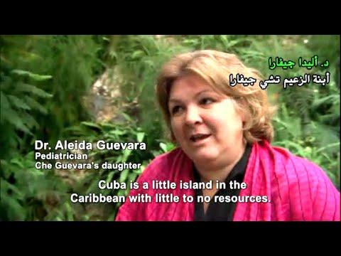 "Michael Moore  ""sicko"" - Health Care in Cuba (With Arabic Subtitle)"