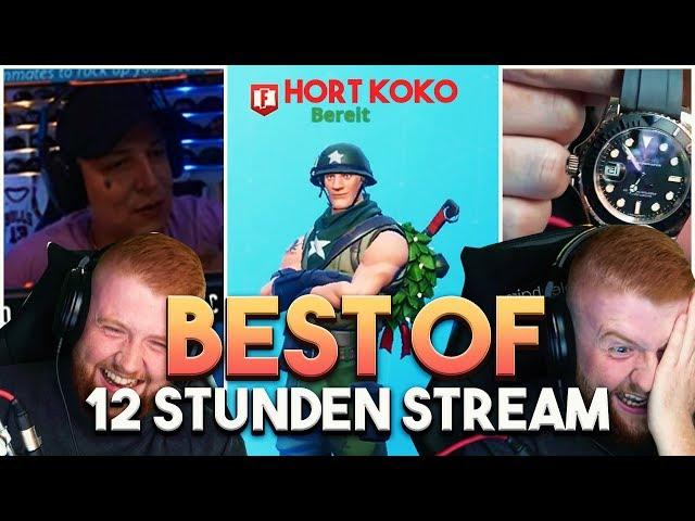 😂 Arena mit KOKO | Best of 12 Stunden Stream | Fortnite Battle Royale