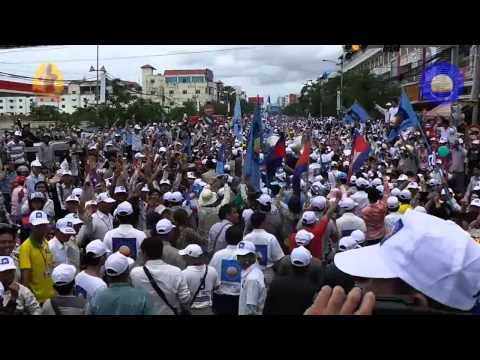 Cambodia 2013 election -  CNRP ដូរ YES WE CAN 7