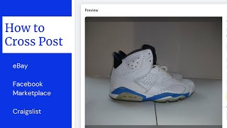 How to Cross P๐st from eBay to Facebook Marketplace and Craigslist