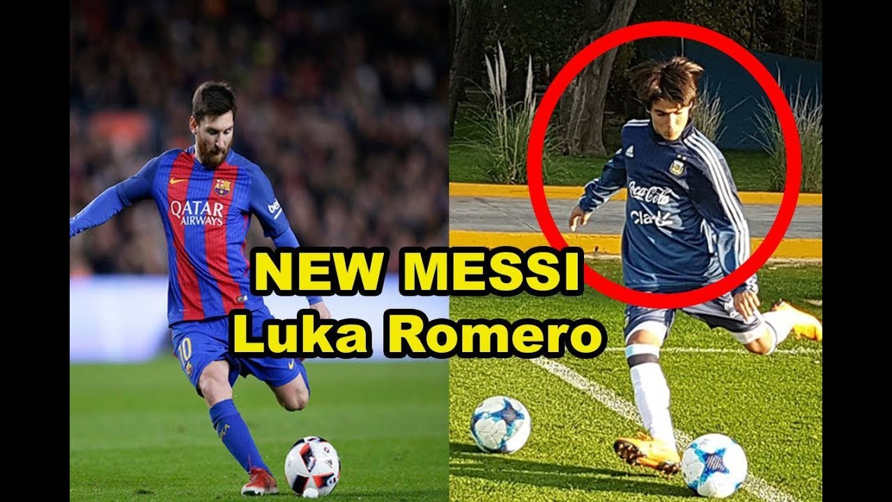 New Messi Luka Romero Confirmed Playing Argentina He Is