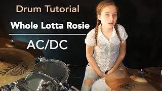 AC/DC drum tutorial by Sina