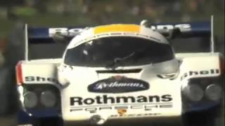 BRACE for the G's!! Johnny Dumfries Porsche 956 In-Car