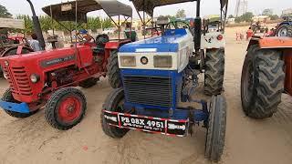 पुराना  ट्रैक्टर लेना है तो यहा आओ Part 1 all tractor for sale in Talwandi sabo tractor mandi