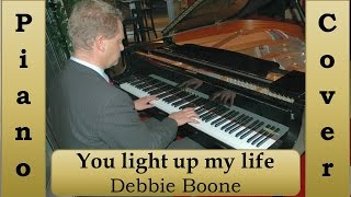 virtuosic piano solo -you light up my life-  Debby Boone piano solo - Hans Müllers