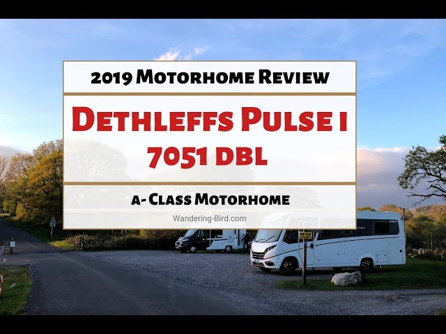 Dethleffs Pulse i 7051 dbl motorhome review- 2019 tour