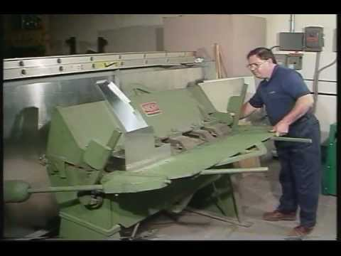 Using A Box Pan Brake To Make A Box | Bending Machine | Lage Equipment