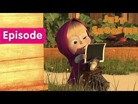 Masha and The Bear - Just shoot me 📸(Episode 34)