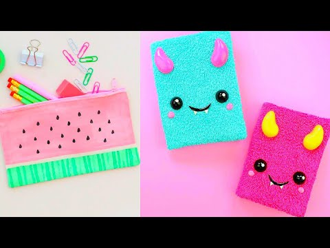 TOP 3 Book Covers I DIY School Supplies I Weird DIY Crafts for Back to School with DIY Lover! #8