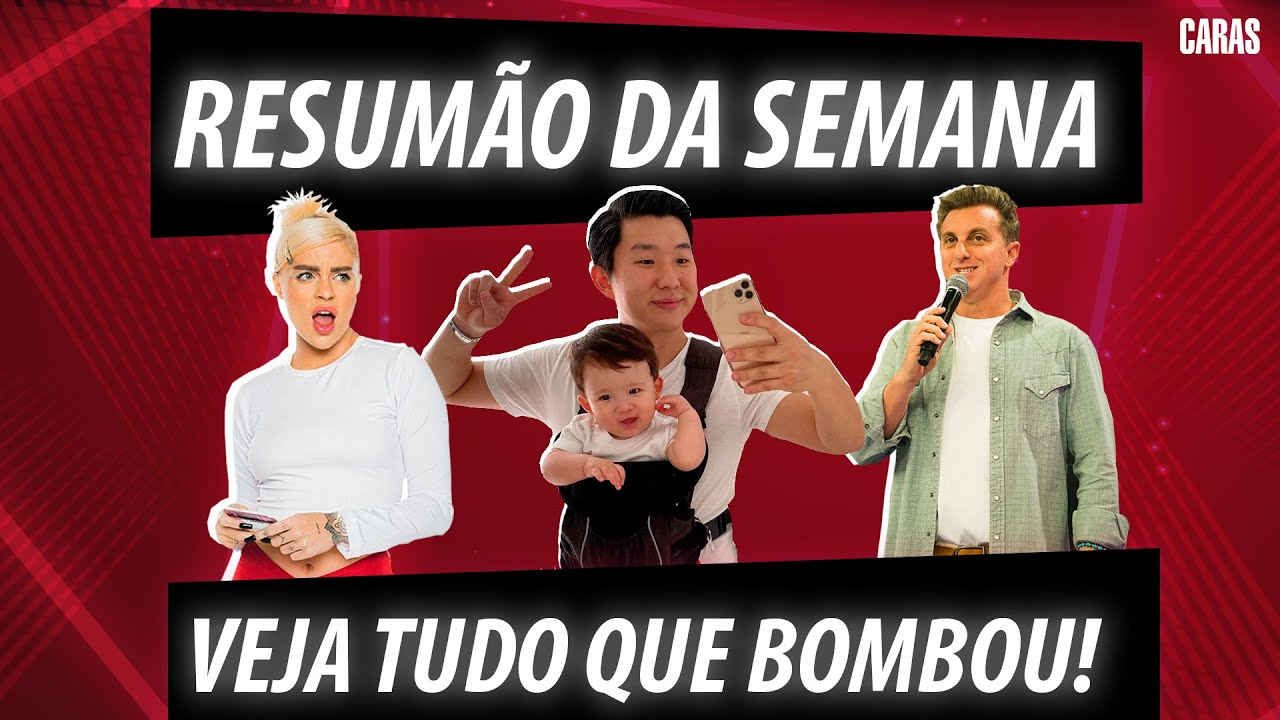 PYONG LEE E SAMMY SE SEPARAM, NOVO ÁLBUM DA LUISA SONZA E MAIS! | RESUMÃO DA SEMANA!