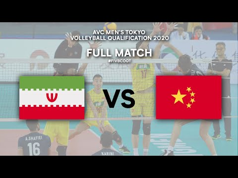 IRI Vs. CHN - Full Match | AVC Men's Tokyo Volleyball Qualification 2020