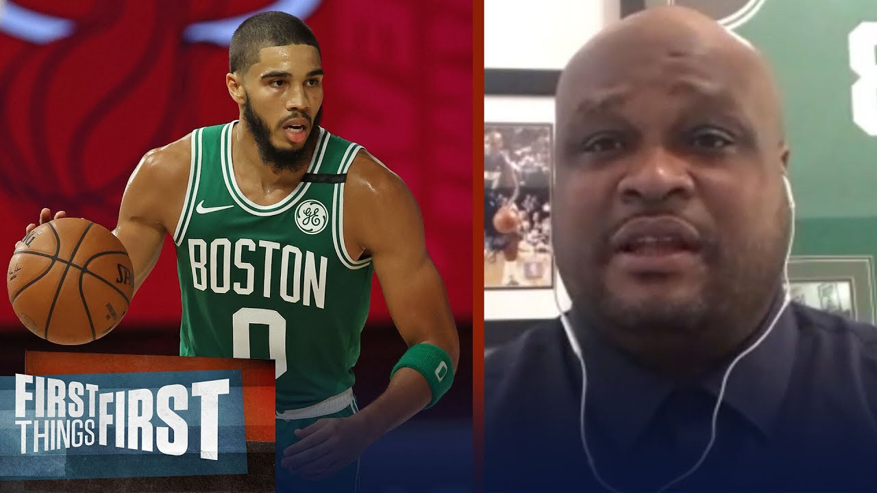 Antoine Walker compares Jayson Tatum to an early Carmelo, talks potential | NBA | FIRST THINGS FIRST