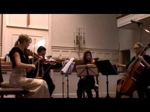 California String Quartet Performs at First Christian Church North Hollywood