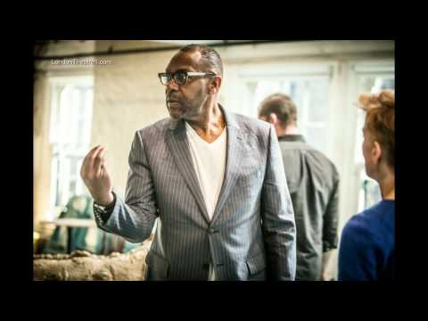 Lenny Henry in rehearsals for The Resistible Rise of Arturo Ui at the Donmar Warehouse