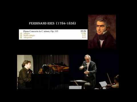 Ferdinand Ries: Piano Concerto no. 4 in C minor, Op. 115