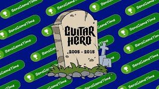 Why Guitar Hero Died - BensGameTime