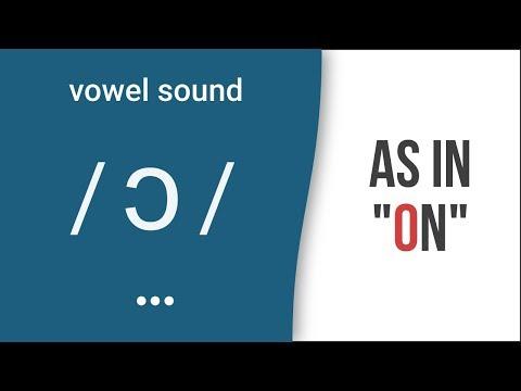 "Vowel Sound / ɔ / As In ""on"" - American English Pronunciation"