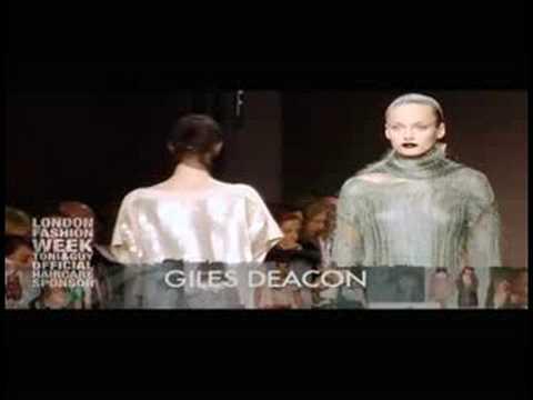 TONI&GUY / GILES DEACON London Fashion Week Feb 08