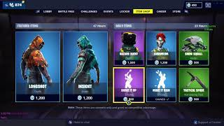 FORTNITE - NEW SKINS OUT NOW - INSIGHT AND LONGSHOT - ITEM SHOP RESET