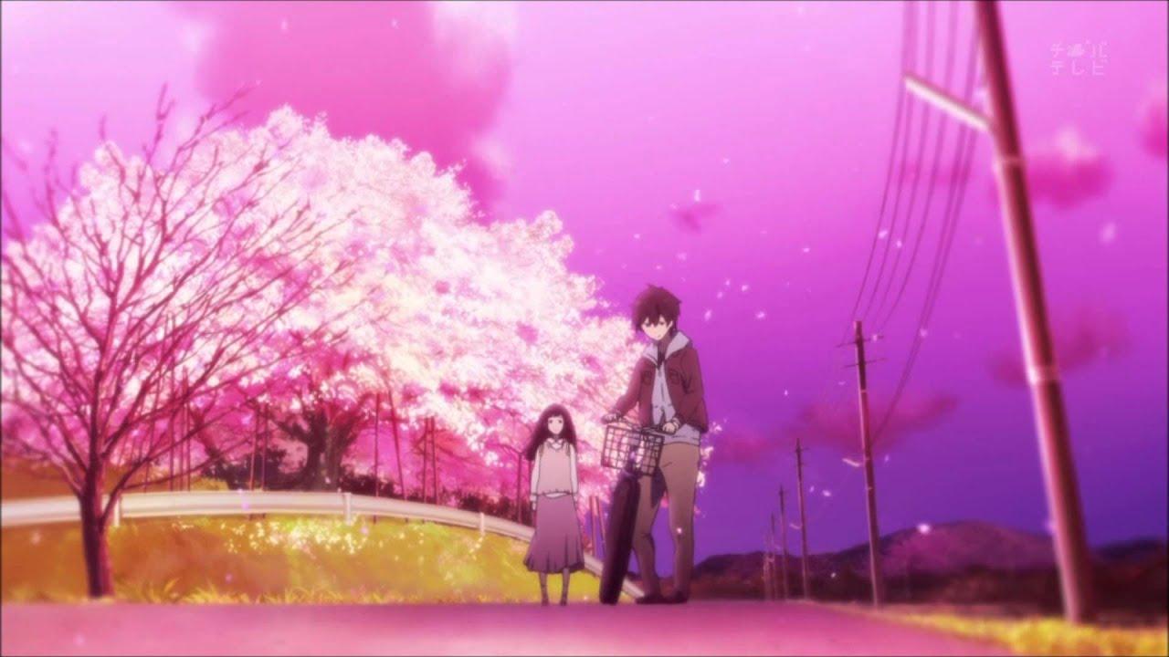 Cherry Blossom Wallpaper Hd Hyouka Madoromi No Yakusoku Ending 1 Youtube