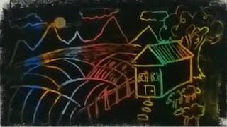 pastel kazıma tekniği / crayons / sanatın renkleri